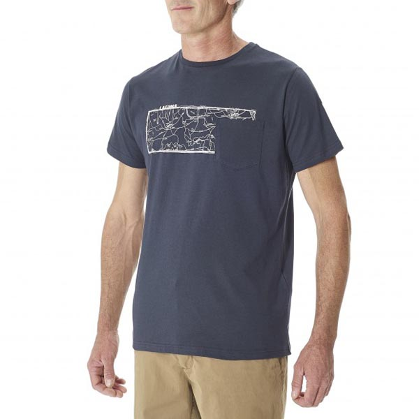 Lafuma Men ROAD TEE Marine Outlet Store