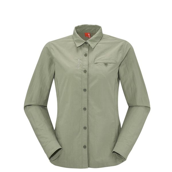 Lafuma Women EXPLORER SHIRT Vert Outlet Store