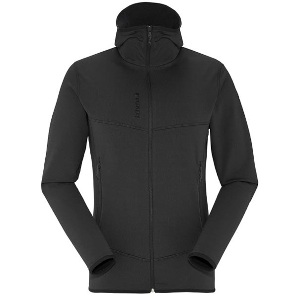 Lafuma Men hiking fleece TRACK THERMAL HOODIE Noir On Sale
