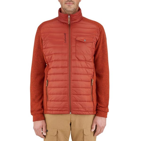 Lafuma Men travel fleece Hybrid loft rouge On Sale