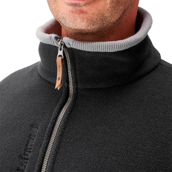 Lafuma Men travel fleece Hudson fzip noire On Sale