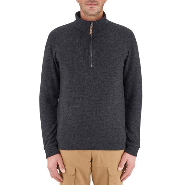 Lafuma Men travel fleece Soho tzip grise On Sale