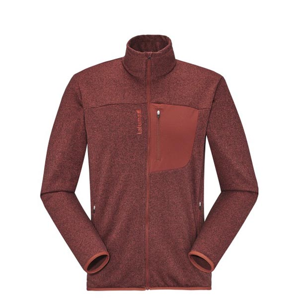 Men Lafuma hiking fleece SHIFT MICRO F-ZIP Rouge Outlet Online