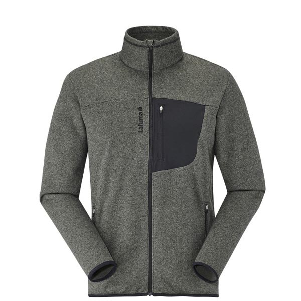 Men Lafuma hiking fleece SHIFT MICRO F-ZIP Gris Outlet Online