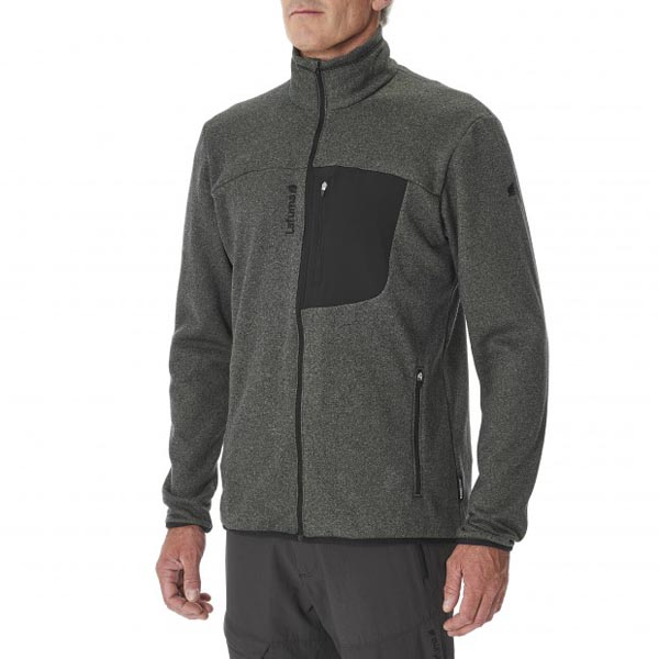 Lafuma Men hiking fleece SHIFT MICRO F-ZIP Gris On Sale