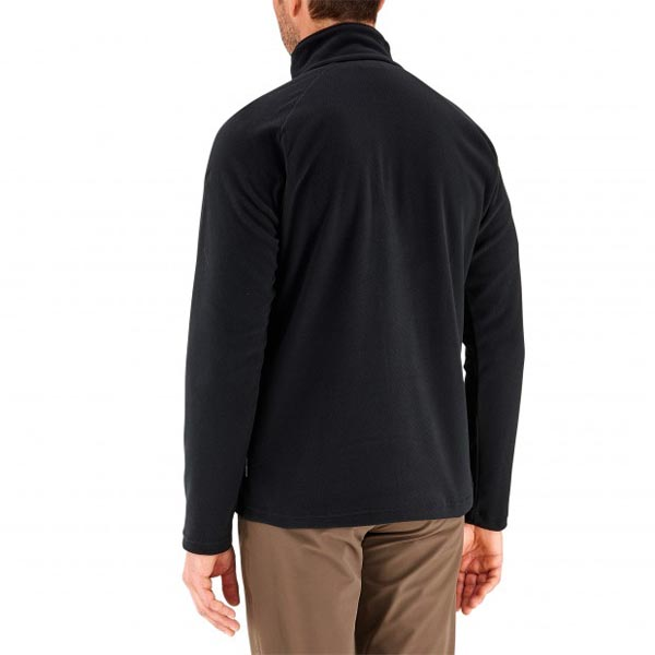 Men Lafuma hiking fleece Rib t-zip noire Outlet Online