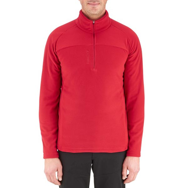 Men Lafuma hiking fleece Rib t-zip rouge Outlet Online