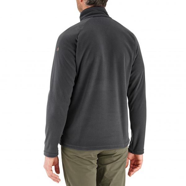 Lafuma Men hiking fleece Rib t-zip grise On Sale