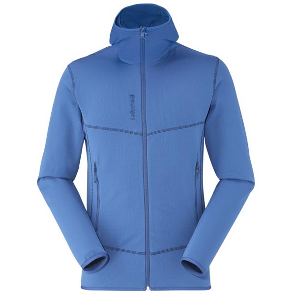 Men Lafuma hiking fleece TRACK THERMAL HOODIE Bleu Outlet Online