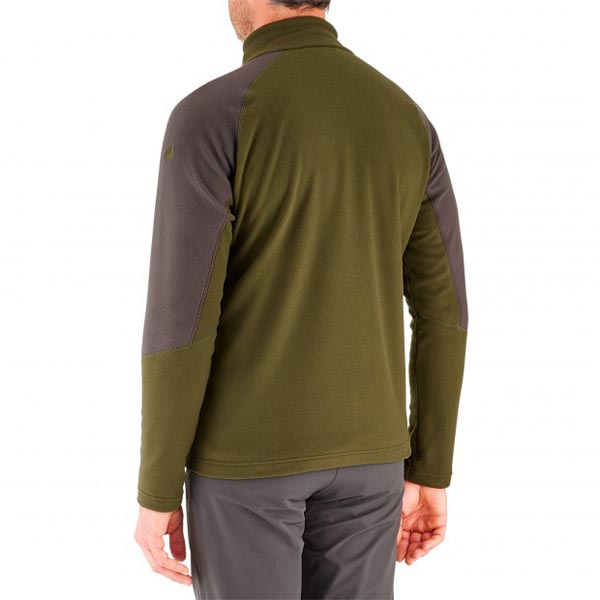 Lafuma Men hiking fleece Access micro f-zip kaki On Sale
