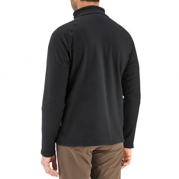 Lafuma Men hiking fleece ACCESS MICRO T-ZIP Noir On Sale