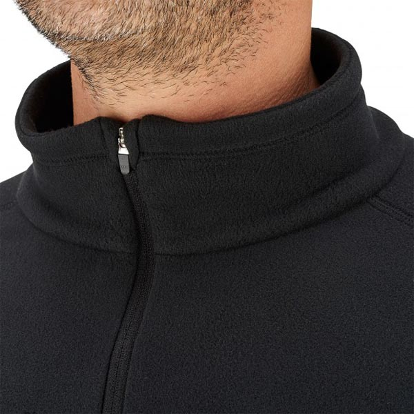Men Lafuma hiking fleece ACCESS MICRO T-ZIP Noir Outlet Online