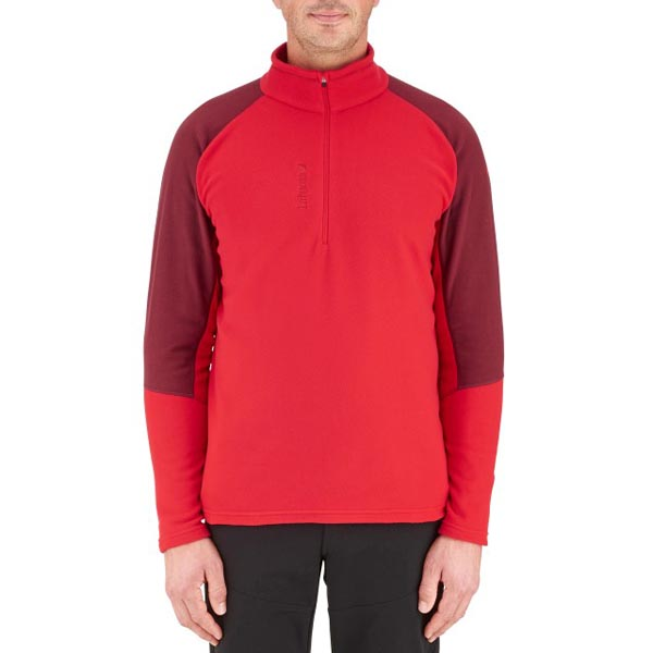 Lafuma Men hiking fleece Access micro tzip rouge On Sale