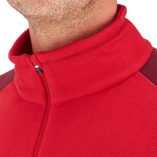 Men Lafuma hiking fleece Access micro tzip rouge Outlet Online