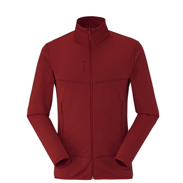 Men Lafuma hiking fleece TRACK THERMAL F-ZIP Rouge Outlet Online