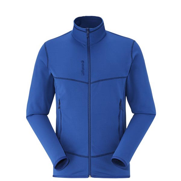 Men Lafuma hiking fleece TRACK THERMAL F-ZIP Bleu Outlet Online
