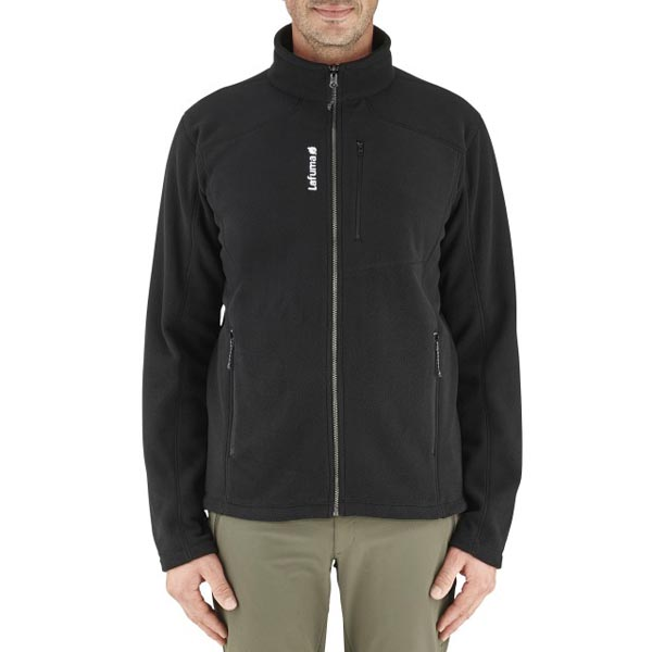 Lafuma Men hiking fleece ACCESS ZIP-IN Noir On Sale