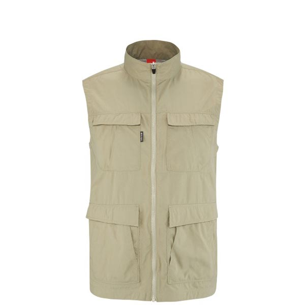 Lafuma Men hiking jacket EXPLORER VEST Beige On Sale
