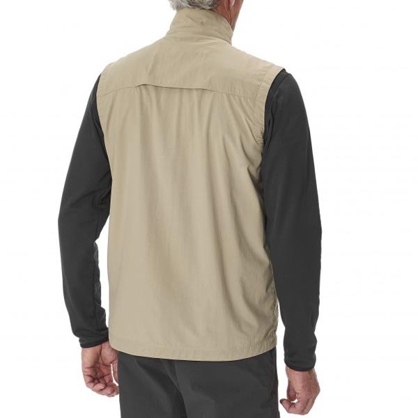 Men Lafuma hiking jacket EXPLORER VEST Beige Outlet Online