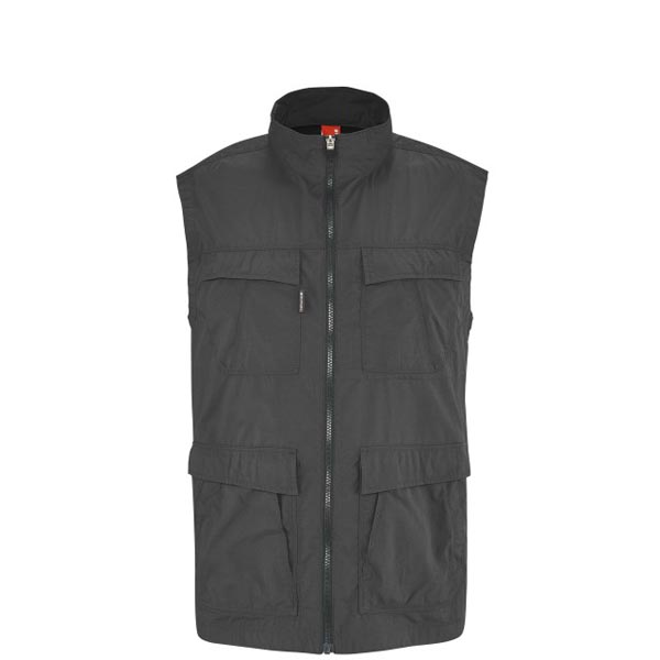 Lafuma Men hiking jacket EXPLORER VEST Noir On Sale