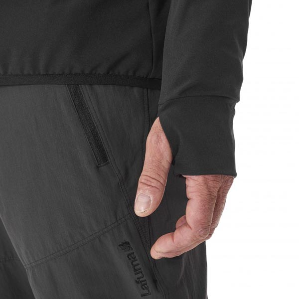 Lafuma Men TRACKSHELL F-ZIP Noir Outlet Store