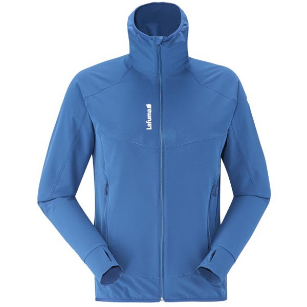 Lafuma Men hiking jacket TRACKSHELL F-ZIP Bleu On Sale