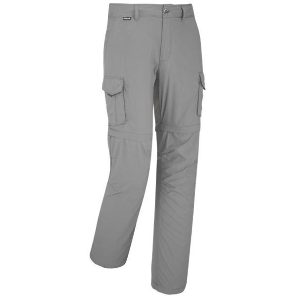 Lafuma Men hiking pant ACCESS ZIP-OFF Gris On Sale