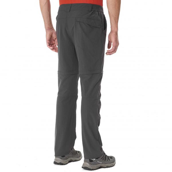 Lafuma Men hiking pant EXPLORER ZIP-OFF Noir On Sale