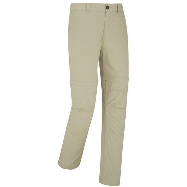 Lafuma Men hiking pant EXPLORER ZIP-OFF Beige On Sale