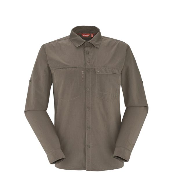 Men Lafuma hiking shirt EXPLORER SHIRT Marron Outlet Online