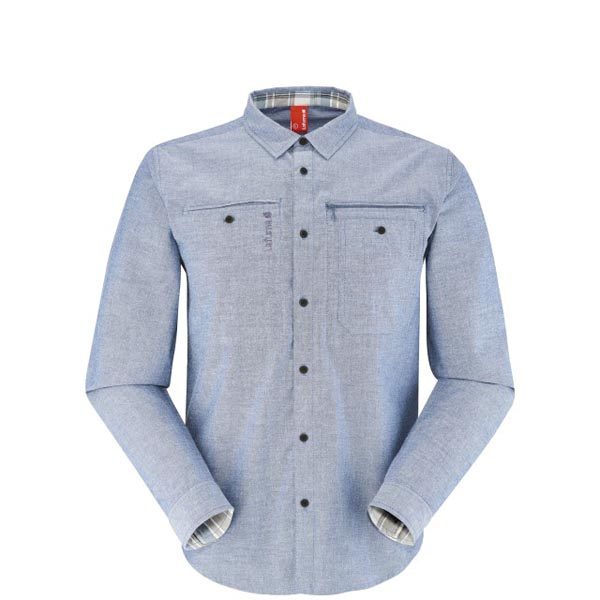 Men Lafuma travel shirt TRAVELLER SHIRT Marine Outlet Online