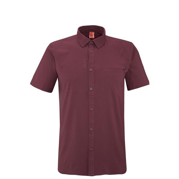 Lafuma Men hiking shirt TRACK SHIRT Rouge On Sale