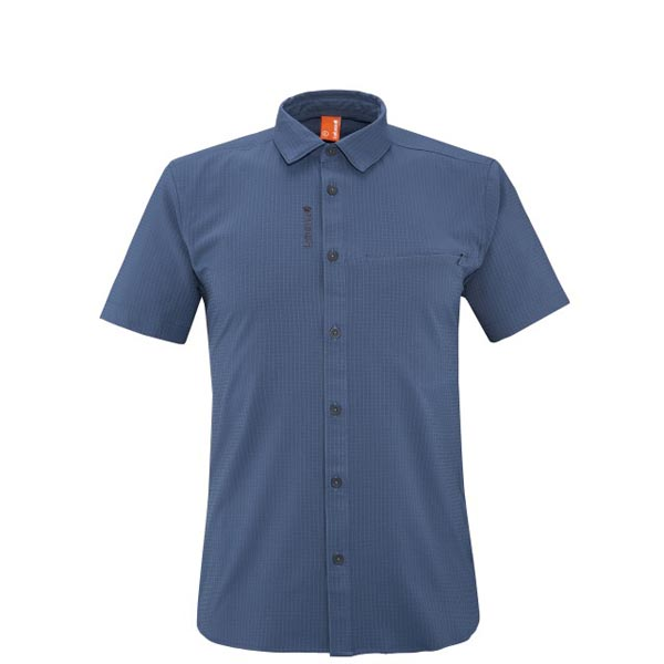 Lafuma Men hiking shirt TRACK SHIRT Marine On Sale