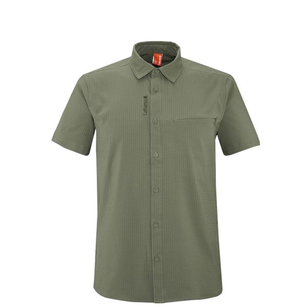 Lafuma Men hiking shirt TRACK SHIRT Kaki On Sale