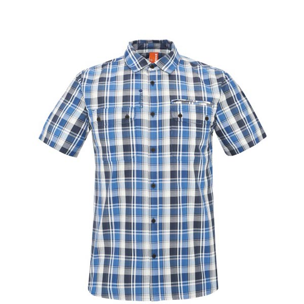Lafuma Men travel shirt RAMBLER SHIRT Bleu On Sale