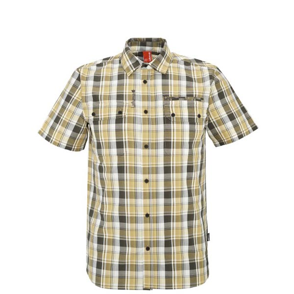 Men Lafuma travel shirt RAMBLER SHIRT Jaune Outlet Online