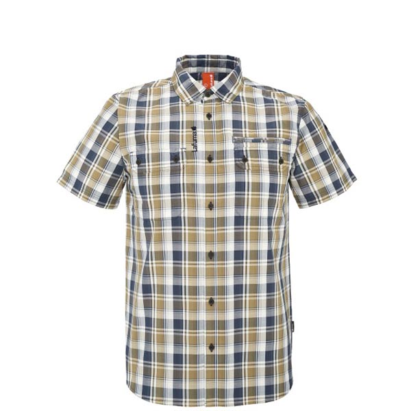 Lafuma Men travel shirt RAMBLER SHIRT Marine On Sale