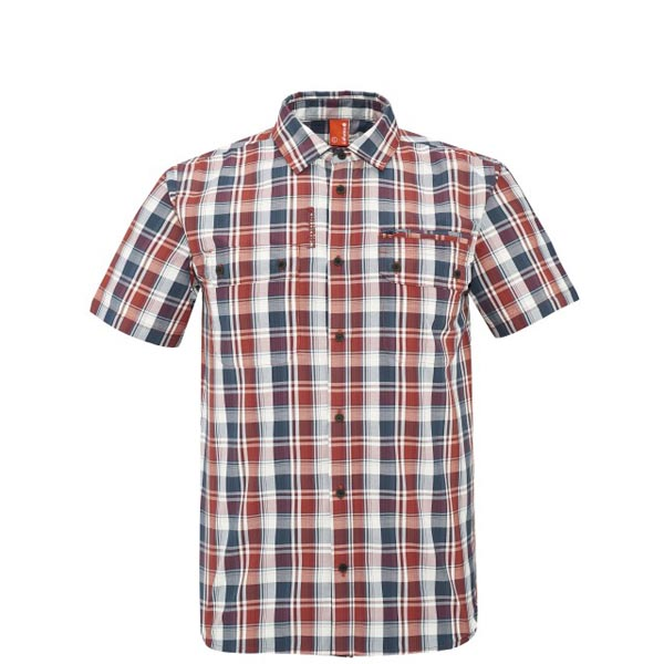 Cheap Lafuma RAMBLER SHIRT Rouge Men Online