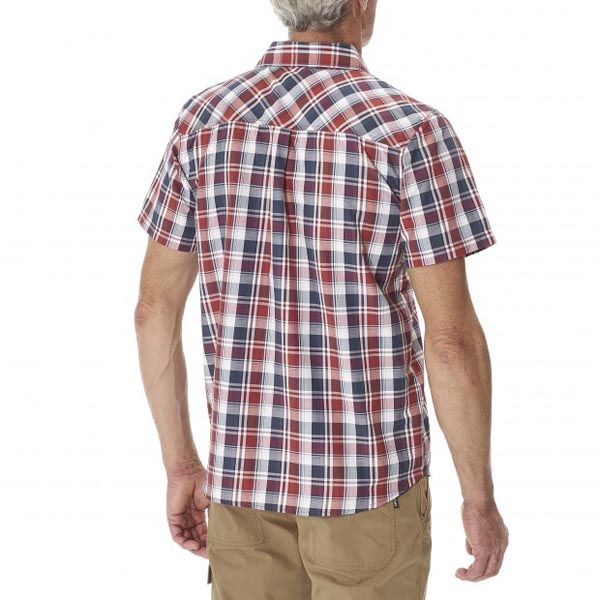 Lafuma Men RAMBLER SHIRT Rouge Outlet Store