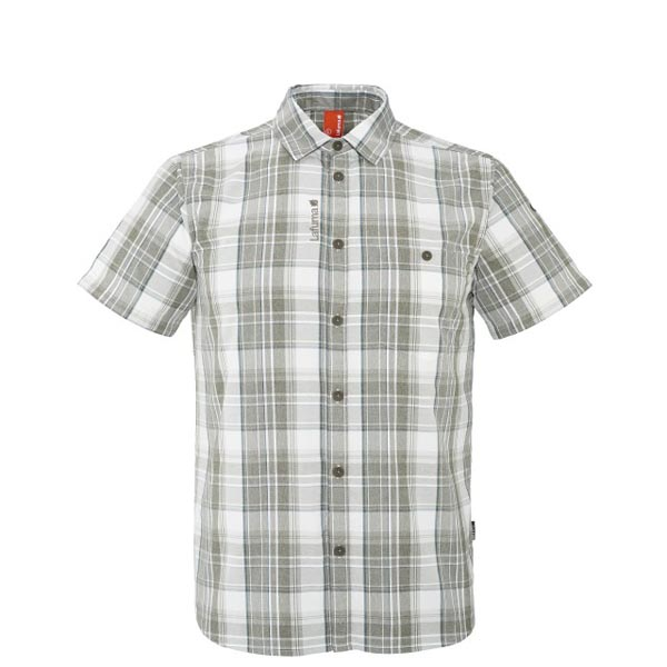 Men Lafuma hiking shirt COMPASS SHIRT Kaki Outlet Online