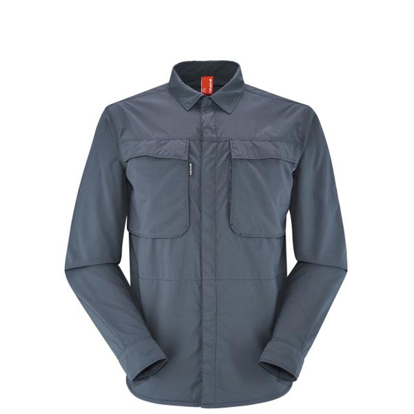 Lafuma Men Chemise randonnée  Homme EXPLORER XPOCKET Marine On Sale