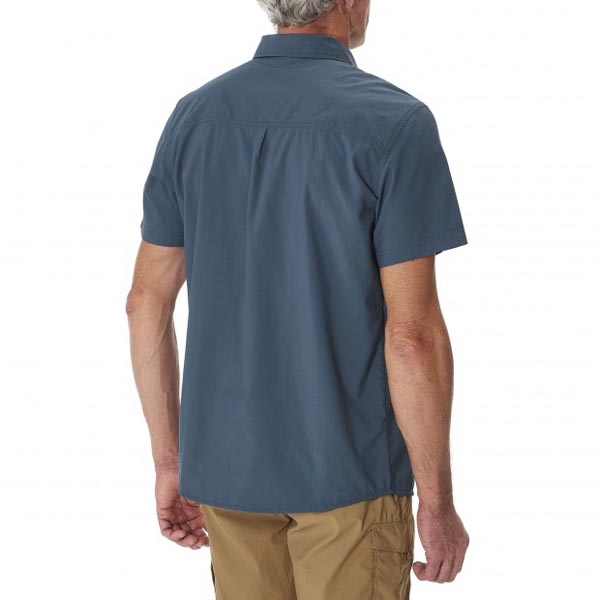 Lafuma Men hiking shirt ACCESS SHIRT Marine On Sale