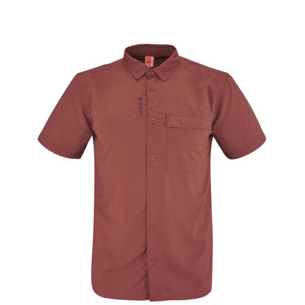 Men Lafuma hiking shirt ACCESS SHIRT Rouge Outlet Online