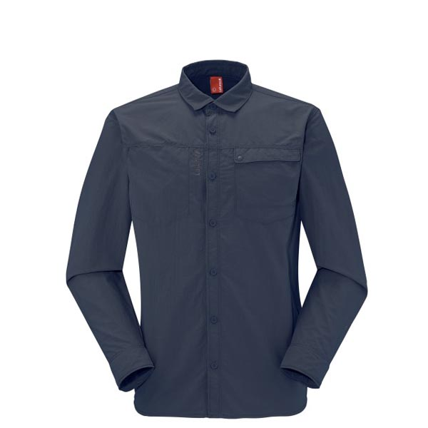 Lafuma Men hiking shirt EXPLORER SHIRT Marine On Sale