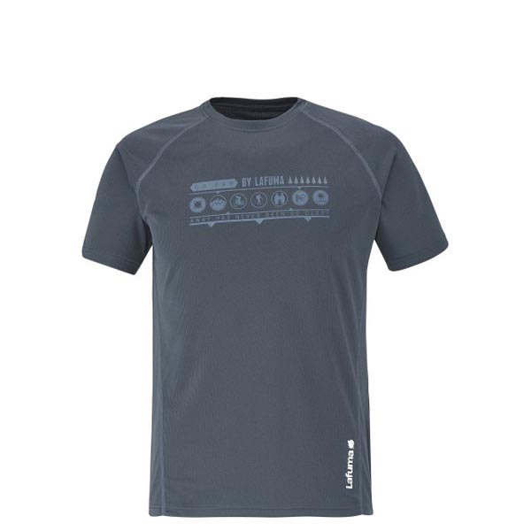 Lafuma Men hiking tee-shirt ACCESS TEE Marine On Sale