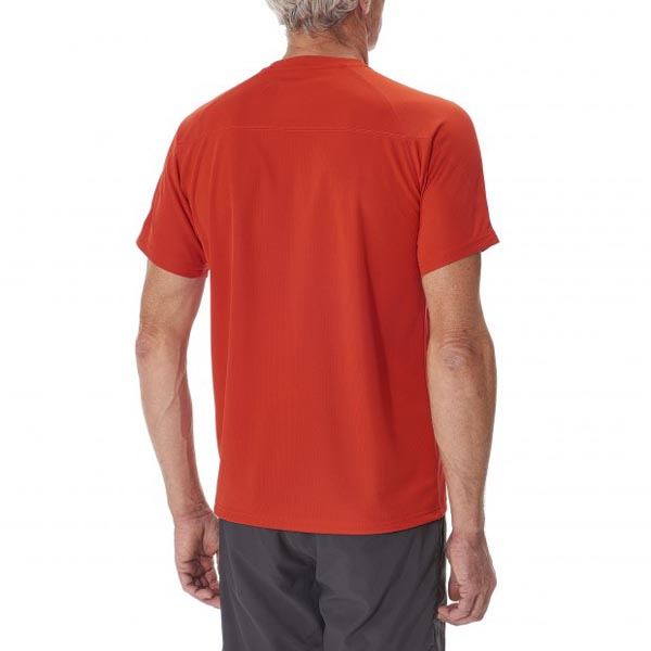 Men Lafuma hiking tee-shirt ACCESS TEE Rouge Outlet Online