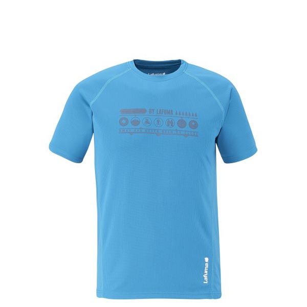 Lafuma Men hiking tee-shirt ACCESS TEE Bleu On Sale