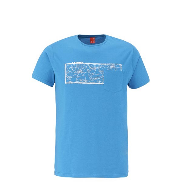 Men Lafuma travel tee-shirt ROAD TEE Bleu Outlet Online