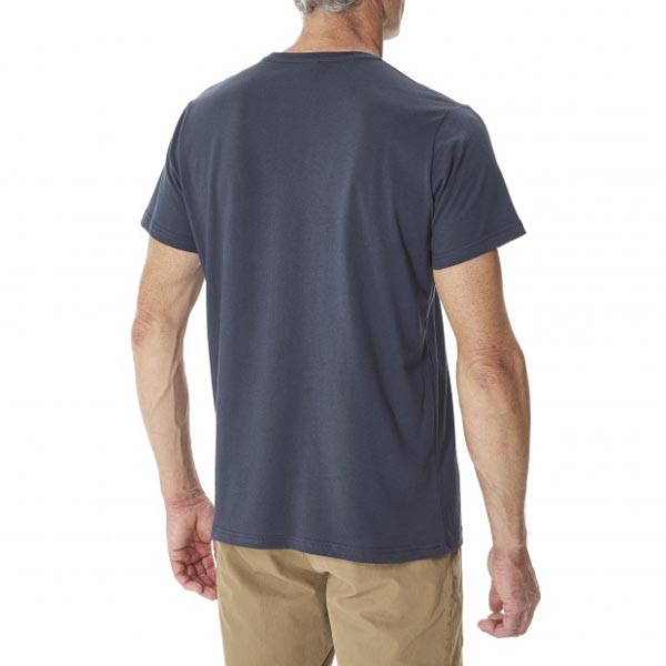 Lafuma Men travel tee-shirt ROAD TEE Marine On Sale