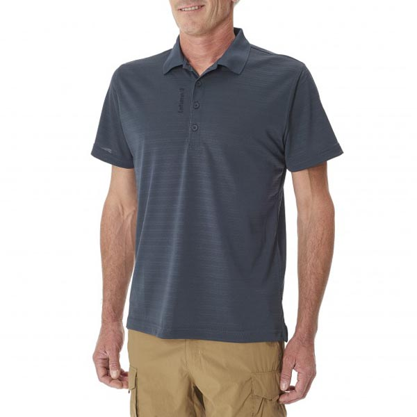 Lafuma Men hiking polo TRACK POLO Marine On Sale